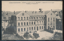 Guerre Europeenne -- Haute - Alsace -- Belfort -- Hopital N - D . Des Anges - Guerre 1914-18