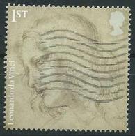 GROSSBRITANNIEN GRANDE BRETAGNE GB  2019 LEONARDO DA VINCI: THE HEAD OF ST. PHILIP 1ST SG 4166 MI 4258 YT 4736 - 1952-.... (Elizabeth II)