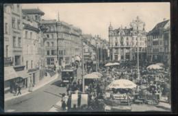 Suisse -- Basel -- Marktplatz - BS Bâle-Ville