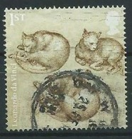 GROSSBRITANNIEN GRANDE BRETAGNE GB 2019 LEONARDO DA VINCI: STUDIES OF CATS 1ST SG 4168 MI 4260 YT 4738 - 1952-.... (Elizabeth II)