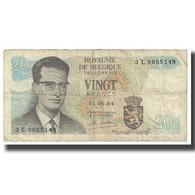 Billet, Belgique, 20 Francs, 1964, 1964-06-15, KM:138, TB - Belgien