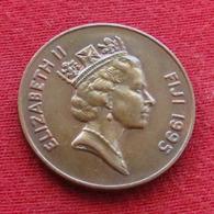 Fiji 2 Cents 1995 KM# 50a *V2 - Figi