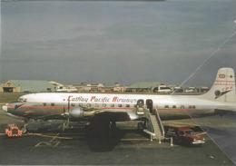 CPA - Cathay Pacific Airways Douglas DC-6B VR-HFK Aereo Aviation Airplane At HND - 1946-....: Era Moderna