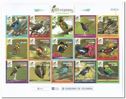 Colombia 2018, Postfris MNH, Birds - Colombia