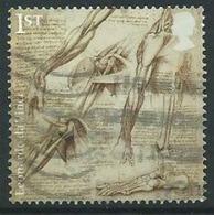 GROSSBRITANNIEN GRANDE BRETAGNE GB  2019 LEONARDO DA VINCI: THE ANANTOMY OF THE SHOULDER AND FOOT 1ST SG 4175 MI 4267 YT - 1952-.... (Elizabeth II)