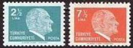 1980 TURKEY ATATURK REGULAR ISSUE STAMPS MNH ** - 1921-... República