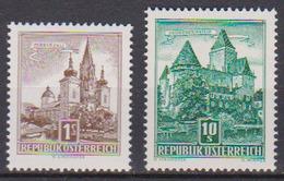 Österreich 1957 Nr.1037 - 1038 ** Postfr. Bauwerke ( A270 ) Günstige Versandkosten - 1945-.... 2. Republik