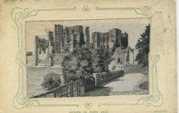 WARWICKS - KENILWORTH CASTLE - WOVEN SILK By GRANT - Angleterre