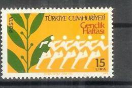 1983 TURKEY YOUTH WEEK MNH ** - 1921-... República