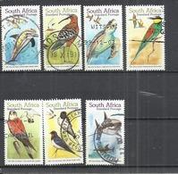 SOUTH AFRICA 1999 - MIGRATORY SPECIES - USED OBLITERE GESTEMPELT USADO - Tauben & Flughühner
