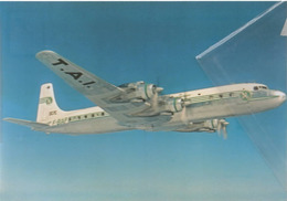 TAI - Transports Aeriens Intercontinetaux Douglas DC-7C F-BIAP Aereo Aviation Airplane DC7 - 1946-....: Era Moderna