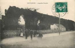 50 , COUTANCES , Aqueduc Romain , * 420 68 - Coutances