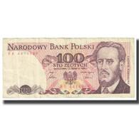 Billet, Pologne, 100 Zlotych, 1986, 1986-06-01, KM:143c, TB - Polen