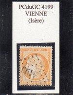 Isère - N° 38 Obl PCduGC 4199 Vienne - 1870 Siège De Paris