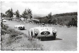 Nurburgring...zwischen Karussell Und Hone Acht...mercedès...animée ...1963...cpsm 9 X 14 .. - Sport Automobile
