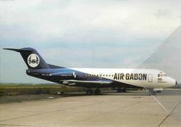 Air Gabon Airlines Fokker F-28 TR-LSU Aereo Aviation Airplane Libreville, Gabon F28 At LBV - 1946-....: Era Moderna