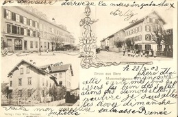 GRUSS Aus BERNE  ---  Muesmattstrasse  - ( 2 Scans ) - BE Bern