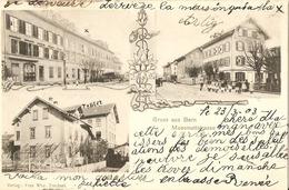 GRUSS Aus BERNE  ---  Muesmattstrasse  - ( 2 Scans ) - BE Berne