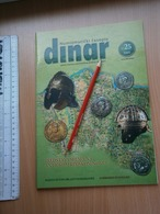 2005 DINAR Serbia Coin Numismatic Magazine Yugoslavia Medal Order ROMAN HELMET Antique Roman Banknote Money - Magazines: Abonnements