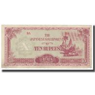 Billet, Birmanie, 10 Rupees, KM:16a, TB - Myanmar