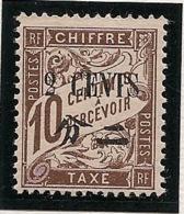 Chine - 1922 - Taxe TT N°Yv. 25 - 2c Sur 10c Brun - Neuf Luxe ** / MNH / Postfrisch - Postage Due
