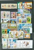 Barbados LOT Of 112 Incl 25 SETS Royals Views  Flowers Tourism Ships Hill More MNH  Cat $95 WYSIWYG A04s - Barbados (1966-...)