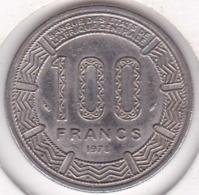 Republique Gabonaise. 100 Francs 1978 , En Cupro Nickel .KM# 13 - Gabon