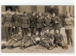 Belgische Soldaten: Kamer 165 (te Identificeren) Originele Foto - Barracks
