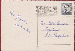 Bredene Aan Zee 1970 Stempel Cachet Obliteration Gouden Boom Praalstoet - Belgium
