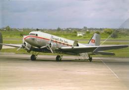 Royal Air Lao Douglas DC3 / C 47 XW-TAF Aereo Aviation Airplane Dc-3 - 1946-....: Era Moderna