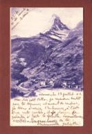 Valais / Wallis - Zermatt - CERVIN - 1901 - VS Valais