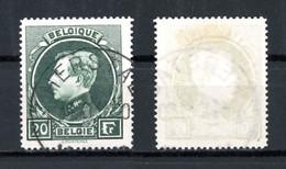 BE   290C   Obl    ---   Type Grand Montenez  --  Nuance Vert Noir Bien Affirmée. - 1929-1941 Grand Montenez