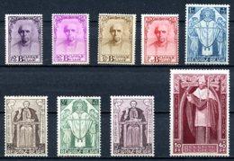 BE   342 - 350   XX    ---   Quelques Très Faibles Imperfections  --  Série Cardinal Mercier - Belgium