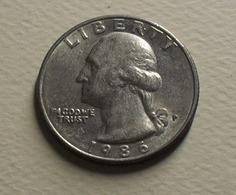 1986 - Etats Unis - USA - QUARTER DOLLAR, Washington, (P), KM A164a - Bondsuitgaven