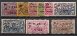 Wallis Et Futuna - 1924-27 - N°Yv. 30 à 38 - 9 Valeurs - Neuf Luxe ** / MNH / Postfrisch - Wallis En Futuna