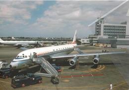 National Airlines Douglas DC-8 N744C Aereo Aviation Airplane At MIA - Pan America PAA - 1946-....: Era Moderna