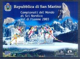 J75- SAN MARINO 2003 SKIING WORLD CHAMPIONSHIPS. - San Marino