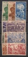 Wallis Et Futuna - 1941-46 - Poste Aérienne PA N°Yv. 1 à 10 - Complet 10 Valeurs - Neuf * / MH VF - Luftpost