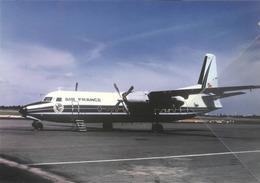 Air France Fokker-27-500 F-BPUK Airvais Aereo Aviation Airplane - 1946-....: Ere Moderne