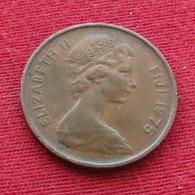 Fiji 1 Cent 1975 KM# 27 - Figi