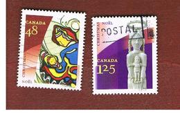 CANADA   -  SG 2172.2174  - 2002  CHRISTMAS    - USATI  (USED)° - Usati