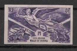 Wallis Et Futuna - 1946 - Poste Aérienne PA N°Yv. 4 - Victoire WW2 - Non Dentelé / Imperf. - Neuf Luxe ** / MNH - Luftpost