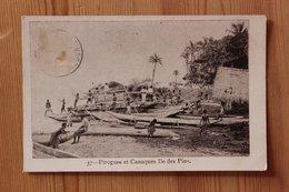 ILE DES PINS (NOUVELLE CALEDONIE) - PIROGUES ET CANAQUES - Nouvelle Calédonie