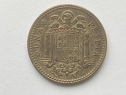 ESPAGNE : UNA (1) PESETA 1947 (Etoile 56 ) - [ 4] 1939-1947 : Gobierno Nacionalista