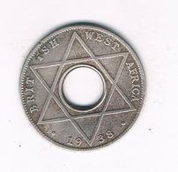 1/10  PENNY  1938 BRITISH WEST AFRICA /6431/ - Münzen