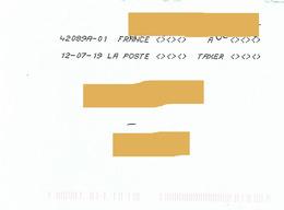 """Toshiba """"à Taxer"""" Sur Enveloppe Non Affranchie - 1960-.... Brieven & Documenten"""