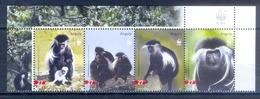 J85- Angola 2004 WWF W.W.F Black & White Colobus Monkey Wildlife Animal. - W.W.F.