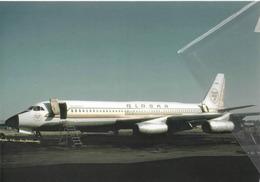Alaska Airlines Convair 990A Coronado N987AS Aereo Aviation Airplane - 1946-....: Era Moderna