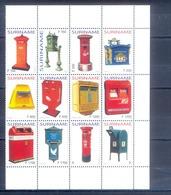 J91- Surinam Suriname 2004. Brievenbussen Letter Boxes. Mailbox Briefkasten Letterbox. - Surinam