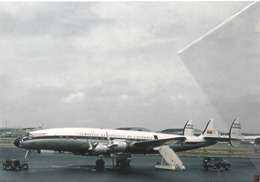Avianca Airlines Lockheed L-1049g Costellation At IDL Aviation Airplane Colombia - 1946-....: Era Moderna